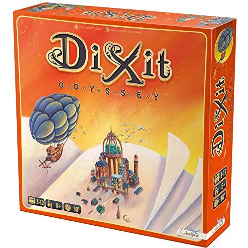 Asmodee–Dixit Odyssey, Brettspiel (Libellud dix03ml1)