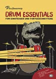 Paulemanns Drum Essentials Schlagzeug Lernen Lehrbuch für Schlagzeuger Notenbuch Schlagzeug Kinder Anfänger und Fortgeschrittene Inkl....