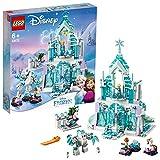 Lego Disney Princess 43172 Palacio mágico de hielo de Elsa, Juguete...