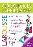 Larousse - 800 exercices de conjugaison