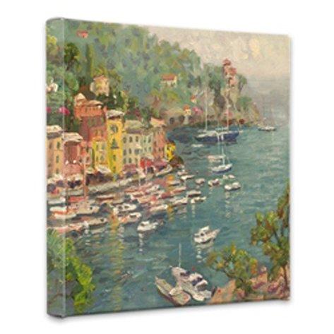 Thomas Kinkade Portofino 14 x 14 Gallery Wrapped Canvas