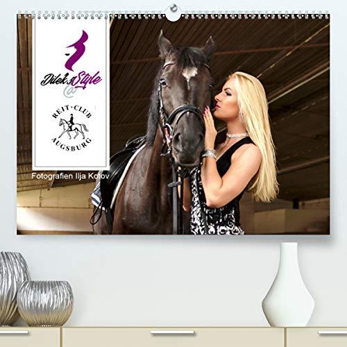 Calvendo Premium Kalender Dilek's STYLE - Reitclub Augsburg: Frisuren und Styles im Umfeld des Reitclub Augsburg (hochwertiger DIN A2 Wandkalender 2020, Kunstdruck in Hochglanz)