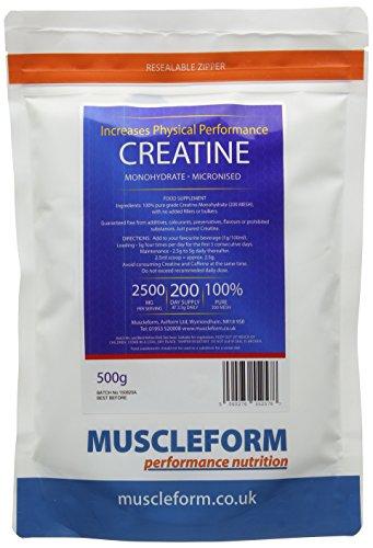 Muscleform 500 g Micropure Creatine Monohydrate