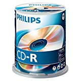 PHILIPS CD-R CR7D5NB00/00 - CD-RW vírgenes (CD-R, 700 MB, 100 Pieza(s), 80 min, 52x)