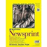 Strathmore 300 Series Newsprint Pad, Smooth...