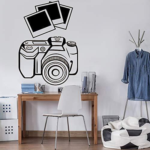 Foto SLR Kamera Wandaufkleber Foto Studio Schlafzimmer Wohnzimmer Dekoration Video Vinyl DIY Wandtattoo Kunst Wandbild Poster