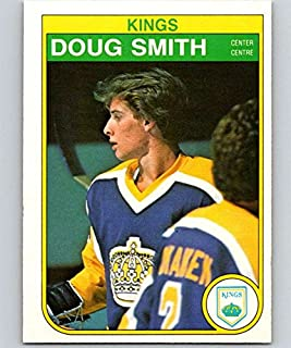 1982-83 O-Pee-Chee Hockey #160 Doug Smith RC Rookie Los Angeles Kings Official NHL OPC Trading Card (stock photo used)