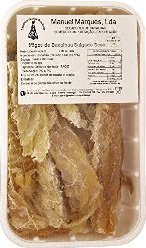 Getrocknete Kabeljaustücke - Migas de Bacalhau 400 gr.