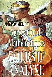 Cours d'analyse - Agrégation de mathématiques d'Alain Pommelet