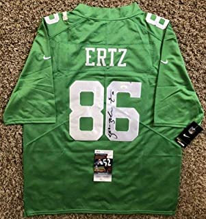 Zach Ertz Autographed Signed Memorabilia Philadelphia Eagles Sb Lii Jersey JSA COA 86 Stanford NFL Rare