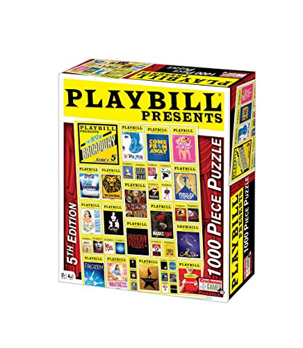 Playbill Broadway Cover Puzzle