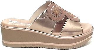 Susimoda Scarpa Donna, Sandalo Pantofola 1919 Rame