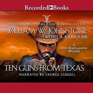 Ten Guns from Texas audiobook cover art