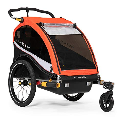 Save %5 Now! Burley Cub X, 2 Seat Kids Bike Trailer & Stroller