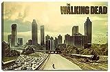 Dream-Arts The Walking Dead Motiv auf Leinwand im Format: