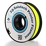 3D Solutech See Through Yellow 1.75mm Flexible 3D Printer Filament 2.2 LBS (1.0KG)
