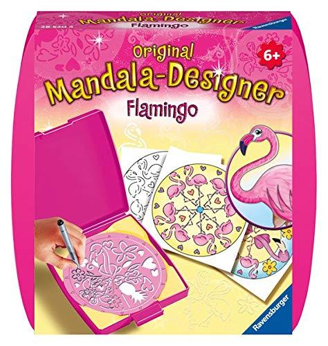 Ravensburger Original Mandala Designer 28520 Mini Mandala-Designer Flamingo, Brown