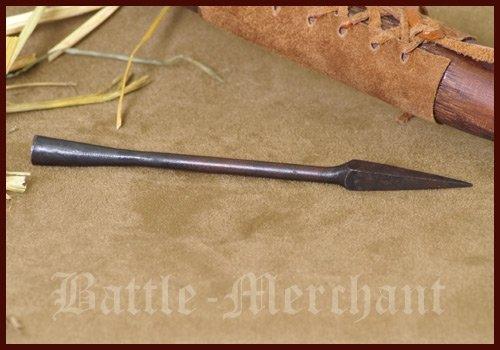 Battle-Merchant Historische Pfeilspitze H - Pfeil und Bogen Langbogen