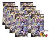 ★ Pokemon Espada & Cartel – Serie 2 Clash de los rebeldes – 8 x Booster – Alemán además 1 x mezcla de frutas y caramelos