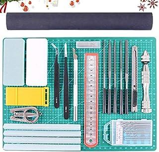 Rustark 27Pcs Gundam Modeler Basic Tools Craft Set Hobby Building Tools Kit for Professional Model Assemble Building
