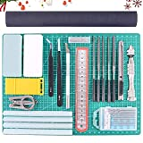 Rustark 27Pcs Modeler Basic Tools Craft Set Hobby Building Tools Kit...