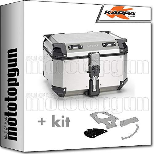 kappa maleta kfr480a k'force 48 lt + portaequipaje monokey compatible con yamaha xenter 125 150 2014 14 2015 15