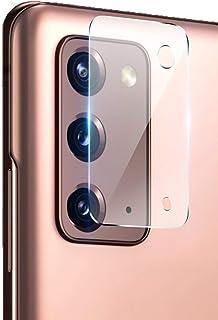 واقي عدسة الكاميرا Wuzixi لهاتف Samsung Galaxy Note20 5G، شفاف، زجاج ناعم، HD، لهاتف Samsung Galaxy Note20 5G. (2 حزمة) Sa...