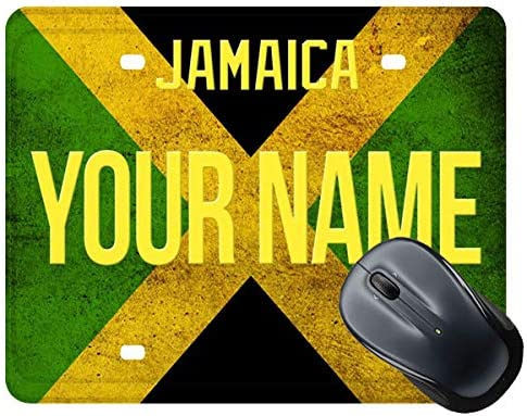 BRGiftShop Max 83% OFF Customize Your Own License Mouse New York Mall Jamaica Square Plate