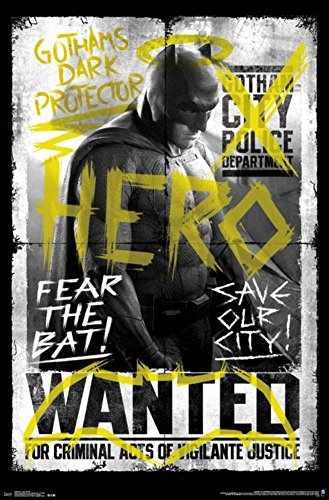 Batman v Superman - Fear The Bat Poster Print (55,88 x 86,36 cm)