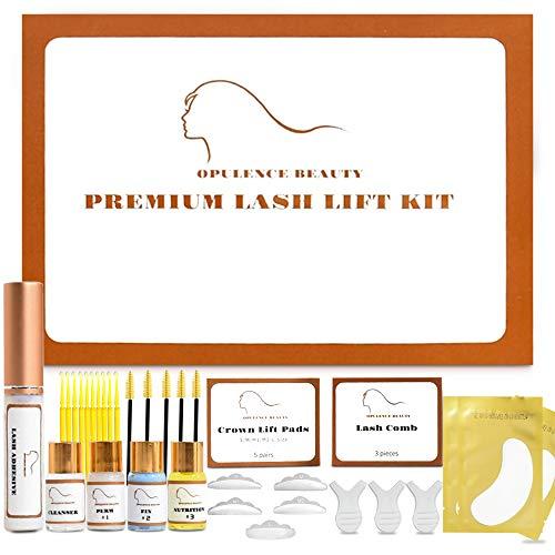 UPGRADED Opulence Beauty Premium Lash Lift Kit, Eyelash lift Kit, Lashes Perm Kit,Professional Semi-Permanent Curling Perming Wave Suitable For Salon