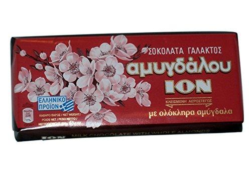 ION Milchschokolade mit ganzen Mandeln 200-g