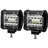 BEAMCORN Led Light Bar 4 Inch Led Pods 120W...