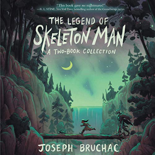 The Legend of Skeleton Man audiobook cover art