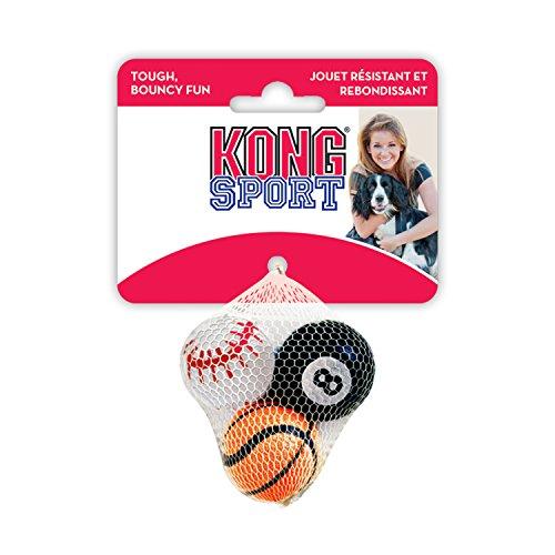 KONG Sport Bälle, Hundespielzeug, klein (3 Stück)