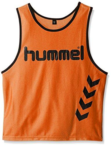 Hummel Fundamental Training - Camiseta de entrenamiento para niños, color neon orange, talla S
