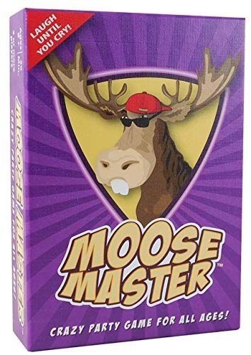 Moose Master  Party Card Game  Have Fun Making Your Friends Laugh  for Fun People Looking for a Hilarious Night in A Box