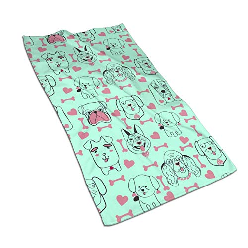 Hdadwy Toallas de cocina con diseño de moda para perros y mascotas, toallas de microfibra de felpa de 17.5 x 27.5 pulgadas para secar los platos y secar los derrames Toallas de cocina para la decoraci