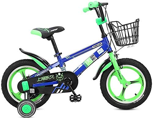 Jue Las Bicicletas de los niños, 4-8 años niños y niñas de Las bicis de 16 Pulgadas, for Altura 105-135cm