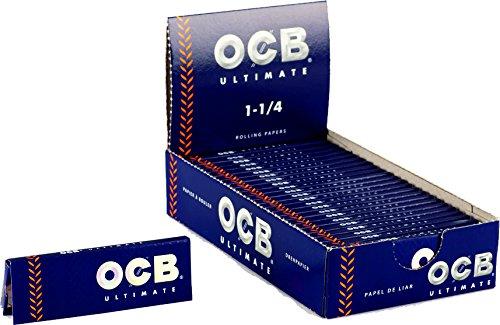 OCB Papel de Fumar, Azul, 25 Unidades
