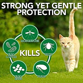 Vet's Best Natural Flea and Tick Home Spray for Cats, 32 oz