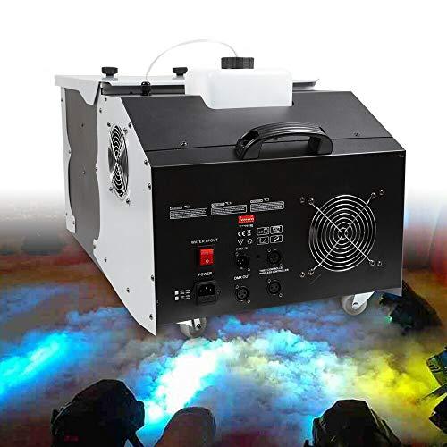 3000W V-Show DJ Low Lying Fog Machine Dry Ice Effect Smoke machine w/Remote Controller for Club Stage Wedding Theater USA STOCK