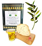Aceite de oliva de 2 litros extraavergine biológico 100 % italiano de olivas sicilianas, sicilianas, extracto en frío en lata