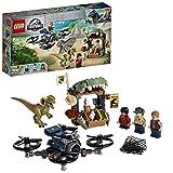 LEGO-Jurassic World Dilophosaure en liberté Jouets Dinosaure 6 Ans et Plus, 168 Pièces 75934