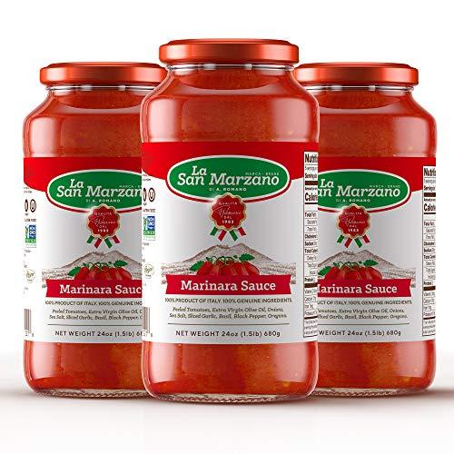 Marinara Pasta Sauce 100% Product of Italy 24 Ounce Jars - 100% Genuine...