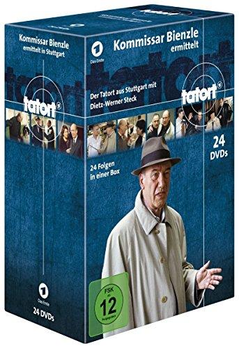Tatort - Kommissar Bienzle ermittelt (24 Fälle) (24 DVDs)
