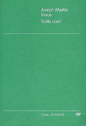 Kraus: Stella coeli (VB 10). Klavierauszug