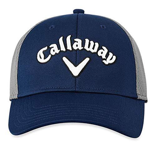 Callaway Mesh Fitted Gorra de béisbol, Azul (Azul Navy 5219369), Large (Tamaño...