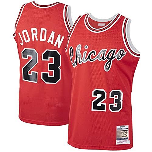 QGF Chicago Bulls # 23 Michael Jordan Camisetas De Baloncesto Transpirable Swingman...