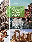 Planner 2021 - 2022: Two Year Planner Calendar Schedule Organizer Hardcover