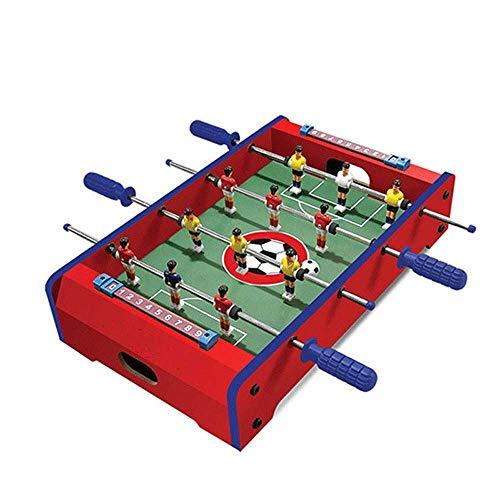 YQSHYP Máquina de futbolín Infantil, Varias mesas de Juegos, Mini Juego de Mesa w/fútbol, Hockey de Diapositivas, Billar, Tenis de Mesa, tamaño 9.6 * 31 * 52cm